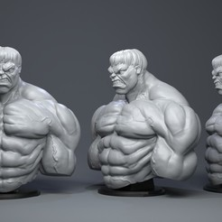 3D printer files Hulk, Garawake