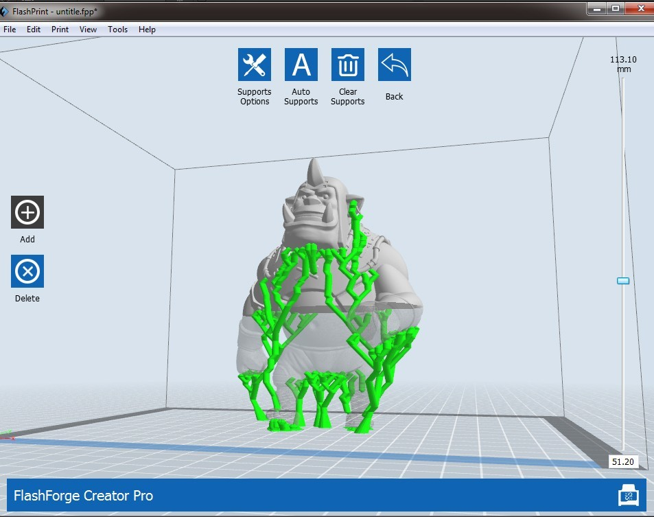 OR2.jpg Download free OBJ file Alchemist Orc • 3D printer design, Dynastinae