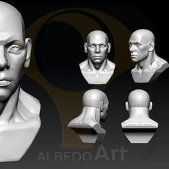Descargar modelo 3D Escultura de la cabeza, Albedo