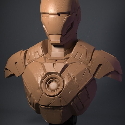 IRM03.jpg Download OBJ file Iron Man Mark3 • 3D printing model, Dynastinae