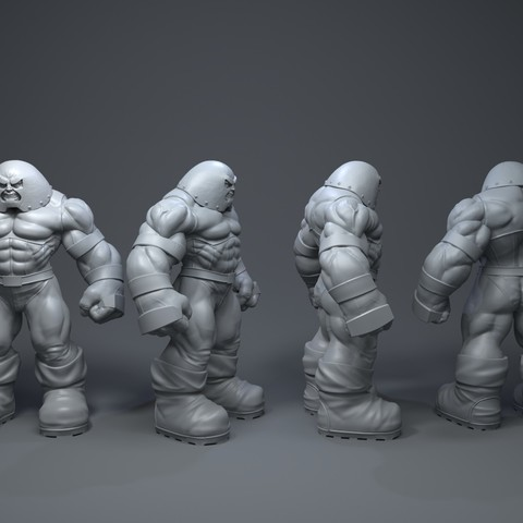 Download 3D printer model Juggernaut, 5RVagabond