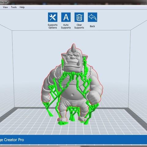 OR1.jpg Download free OBJ file Alchemist Orc • 3D printer design, Dynastinae