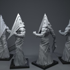 Download 3D printing models Pyramid Head, Albedo