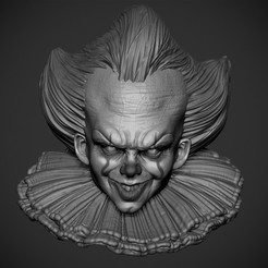 3d printer model PennyWise, Garawake