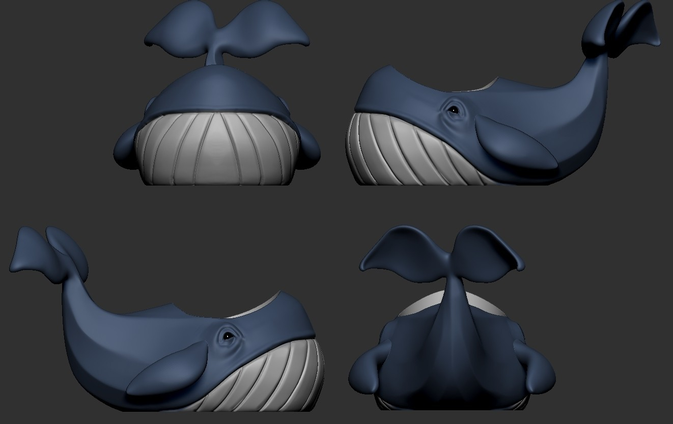 Whale (1).jpg Télécharger fichier OBJ gratuit Pot de fleurs de baleine • Design imprimable en 3D, Dynastinae