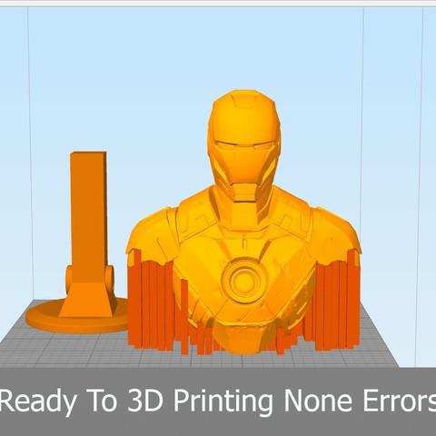 Print01.jpg Download OBJ file Iron Man Mark3 • 3D printing model, Dynastinae
