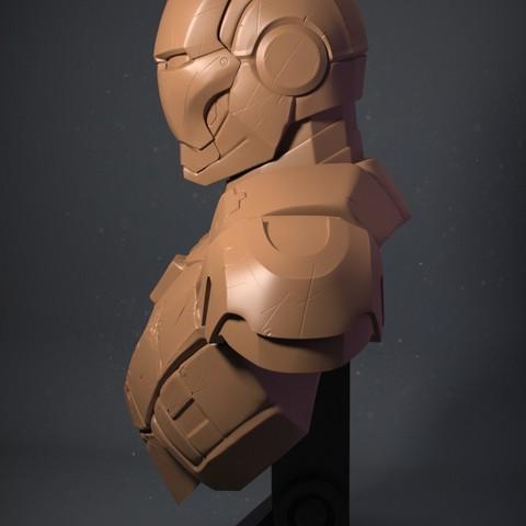 IRM03_01.jpg Download OBJ file Iron Man Mark3 • 3D printing model, Dynastinae