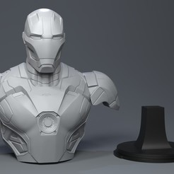 STL file Iron-man , Garawake