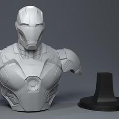 Diseños 3D Iron-man, Garawake