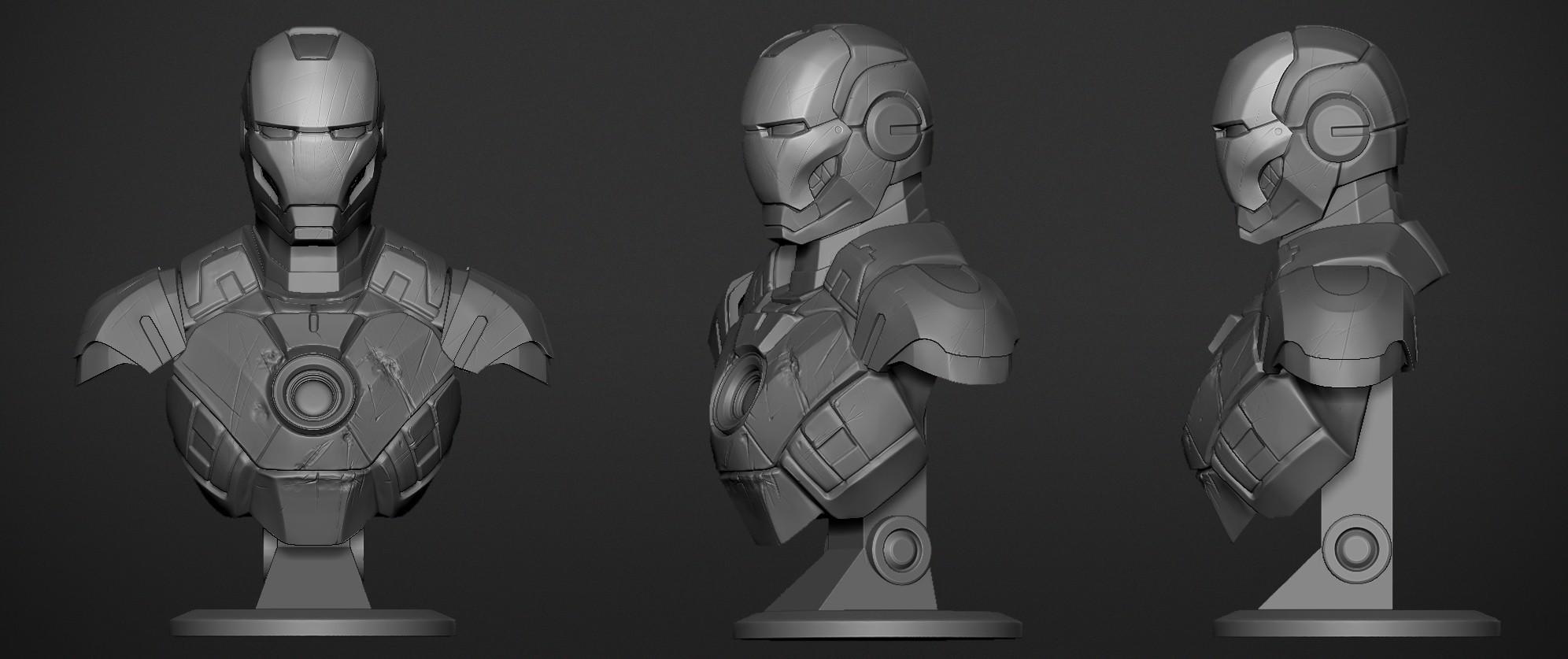 IronMan Mark3_01.jpg Download OBJ file Iron Man Mark3 • 3D printing model, Dynastinae