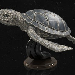 Download 3D printing templates Turtle, 5RVagabond