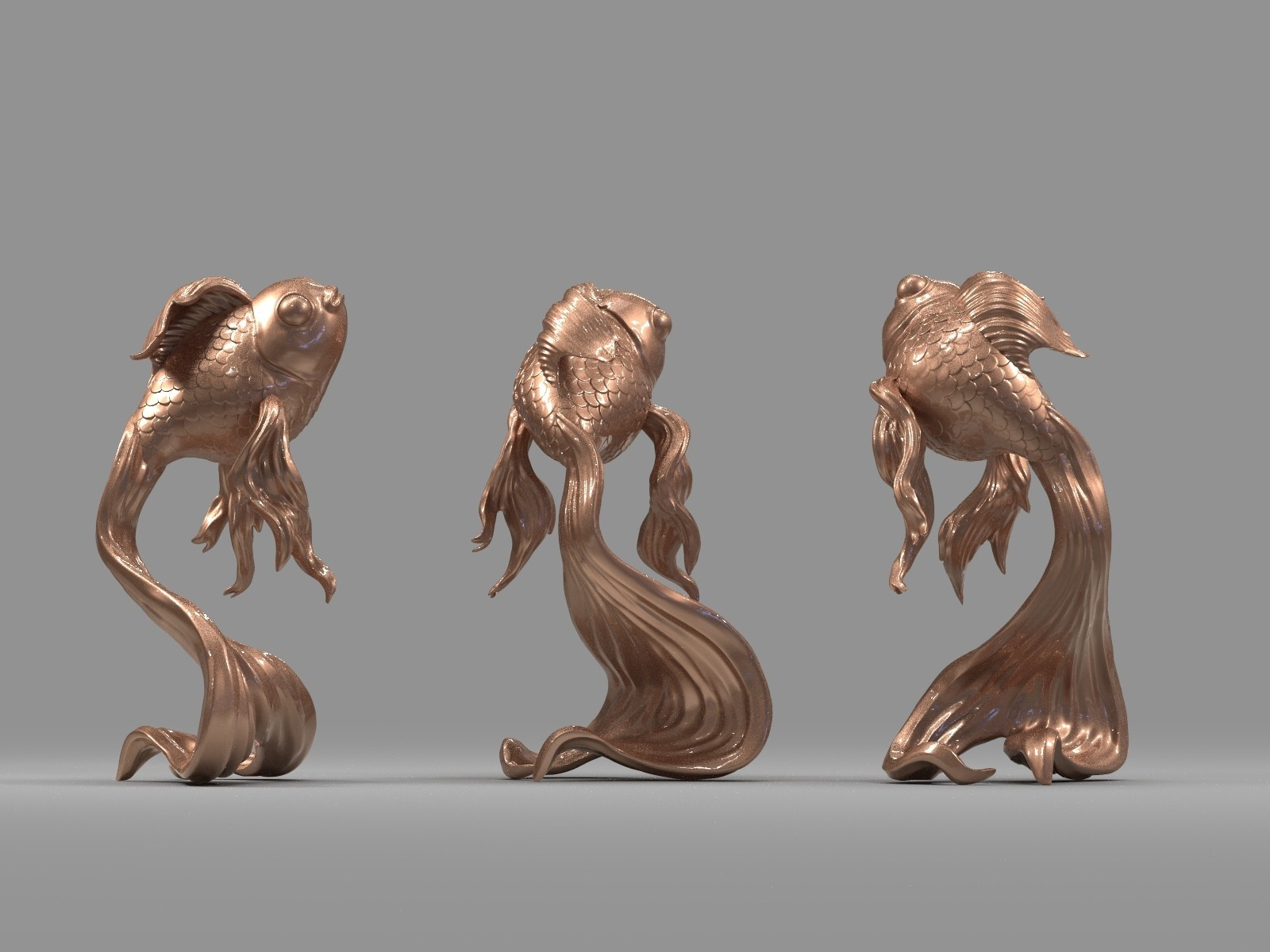 K09.325.jpg Download free OBJ file Goldfish • 3D printer object, Dynastinae