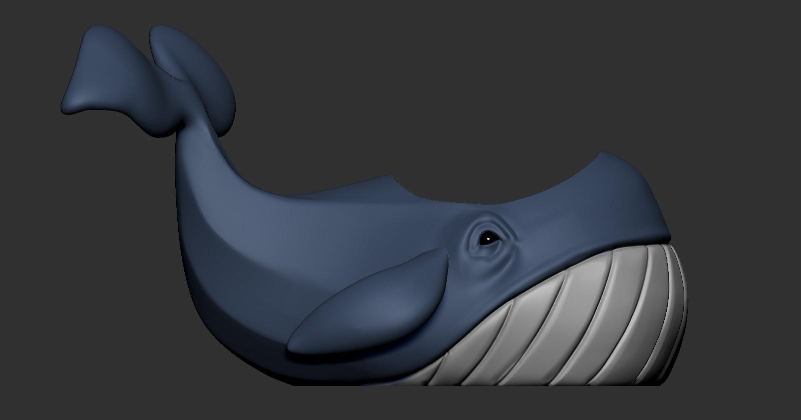 Whale (6).jpg Télécharger fichier OBJ gratuit Pot de fleurs de baleine • Design imprimable en 3D, Dynastinae