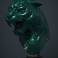 3d printer model Panther , Garawake