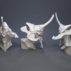 3D print files Evangelion unit-01, Garawake