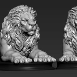 Download 3D model Lion , 5RVagabond