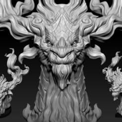 07.jpg Télécharger fichier OBJ Tête de dragon 02 • Modèle pour impression 3D, Dynastinae