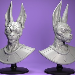 BB.jpg Download OBJ file Beerus • Template to 3D print, Dynastinae