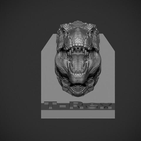Z03.jpg Download OBJ file T-rex Tyrannosaurus • 3D printable object, Dynastinae
