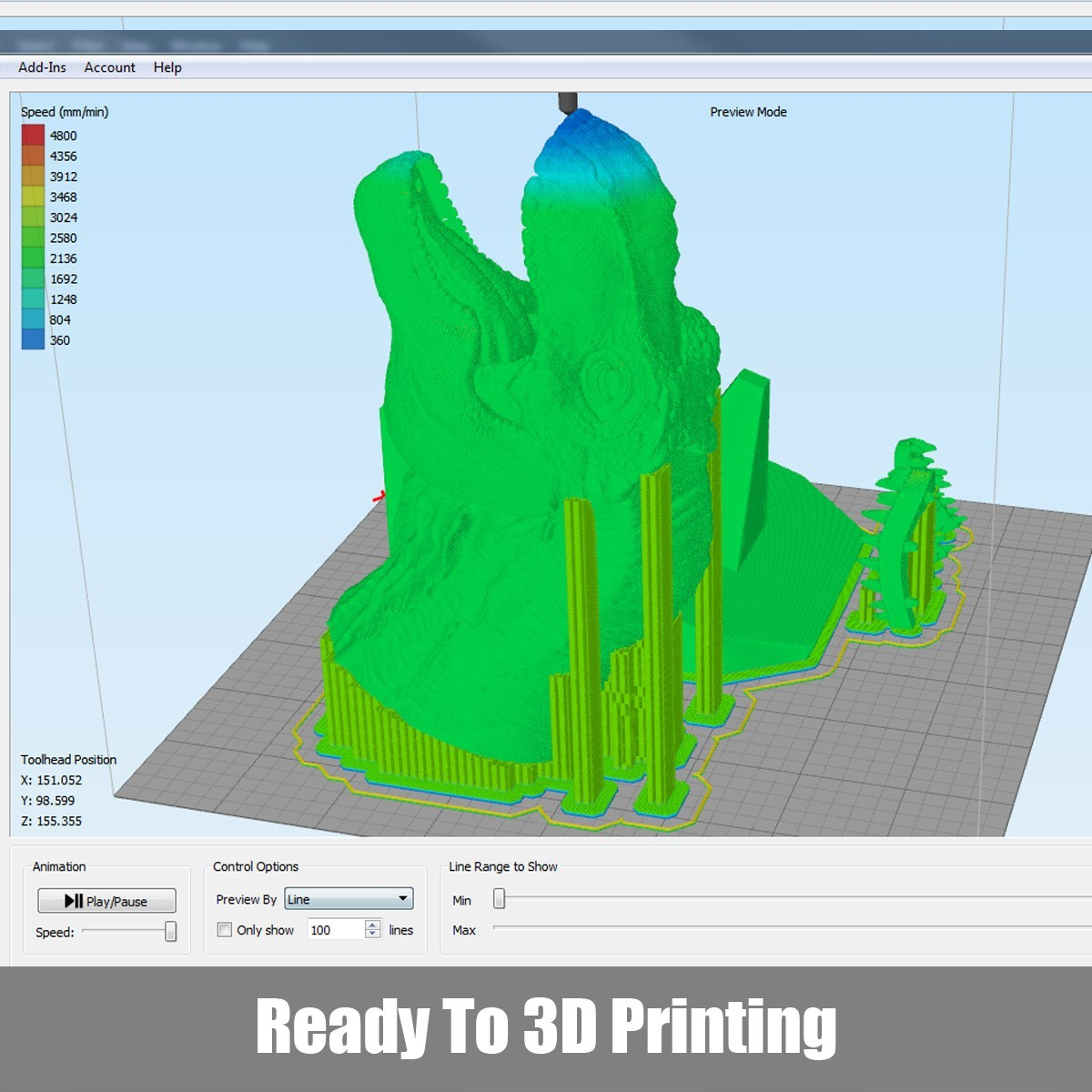 P03.jpg Download OBJ file T-rex Tyrannosaurus • 3D printable object, Dynastinae