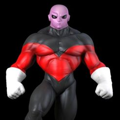 Download 3D printing templates Jiren Dragonball, 5RVagabond