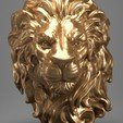 Download 3D printing templates Lion Head , 5RVagabond