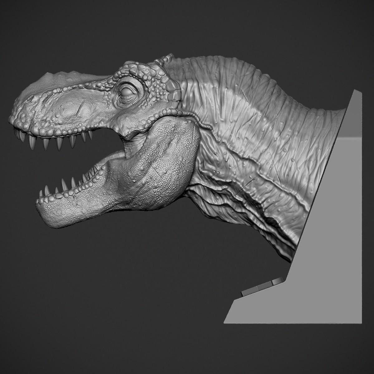Z05.jpg Download OBJ file T-rex Tyrannosaurus • 3D printable object, Dynastinae