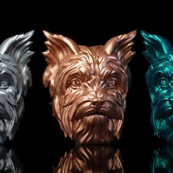 Download free OBJ file Yorkshire terrier • 3D printing object, Albedo