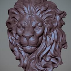 Télécharger fichier STL gratuit Tête de Lion **Jour libre 5**, Garawake