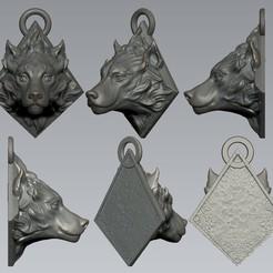 06.jpg Download OBJ file Wolf Head  • 3D printing model, Dynastinae