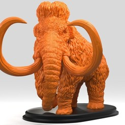 SH.343.jpg Download OBJ file Mammoth • 3D printable model, Dynastinae