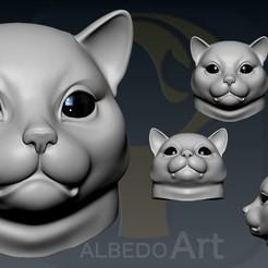 02.jpg Télécharger fichier OBJ Graisse de chat • Design à imprimer en 3D, Dynastinae