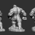 3D printing model Hulk bruce banner, Garawake