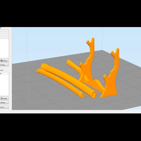 55.jpg Download free STL file katana 01 • 3D printable template, Dynastinae