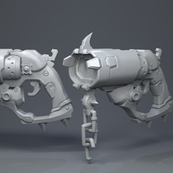 3D print files Roadhog gun, Garawake