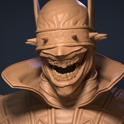 3D print model Batman who laughs, Garawake