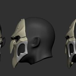 3D printing model Reaper mask, Garawake