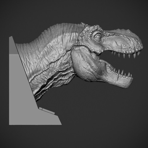 Z01.jpg Download OBJ file T-rex Tyrannosaurus • 3D printable object, Dynastinae