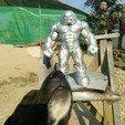 Download OBJ file Juggernaut • 3D printing template, Albedo