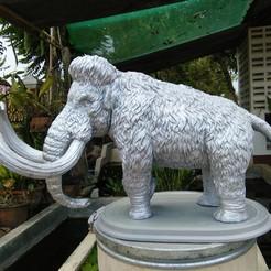 3D printing model Mammoth, Garawake