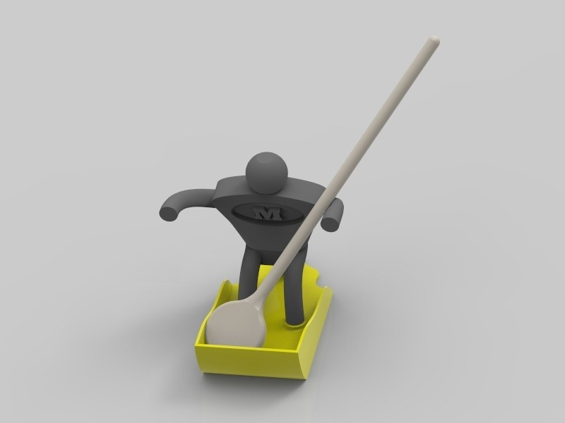 key94.9.jpg Download free STL file MultiMan | Holder | Kitchen Help • Model to 3D print, StefanP