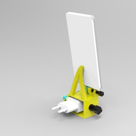 key818.3.jpg Download free STL file PlugHack | Mini DockingStation | Smartphone • 3D printer design, StefanP