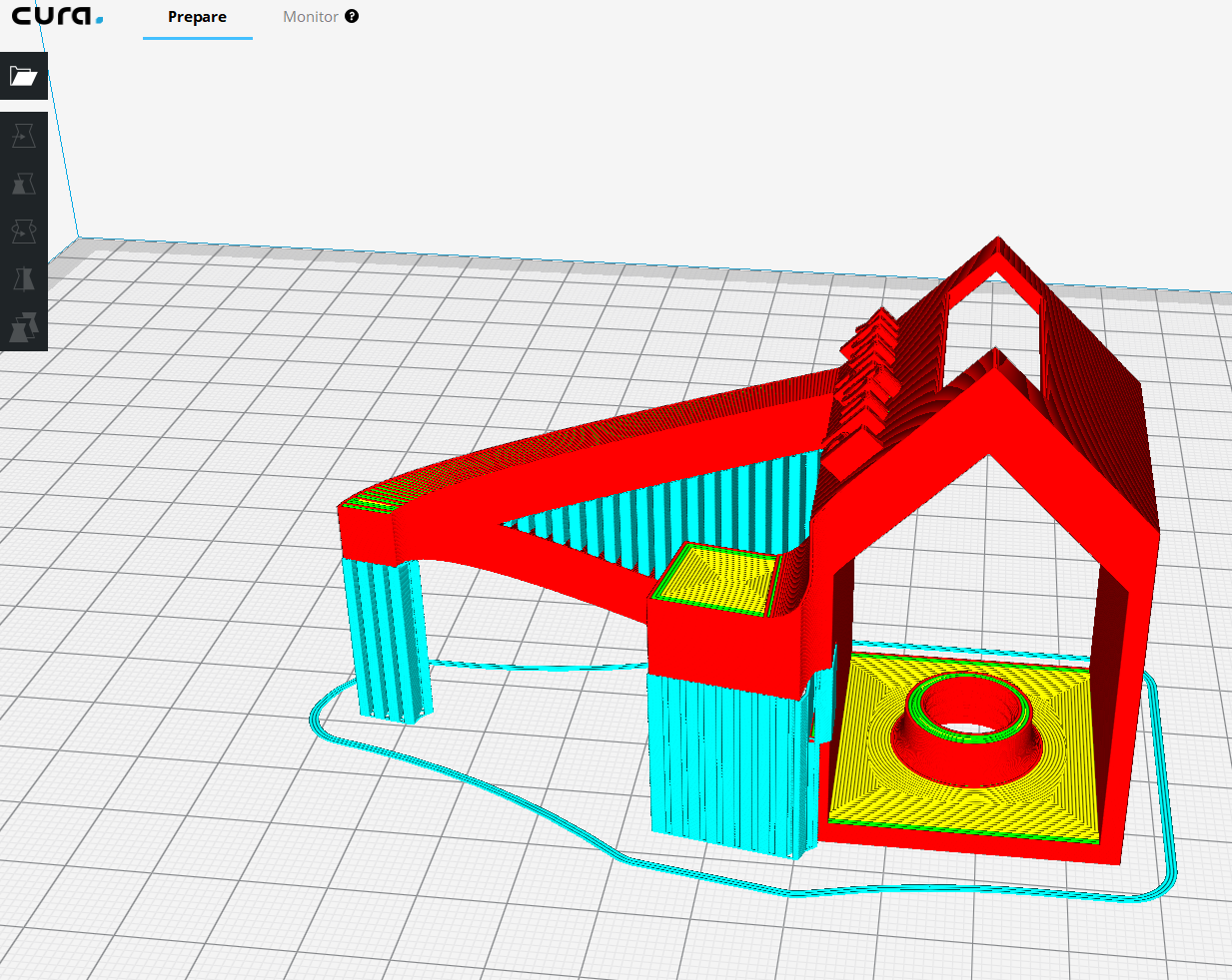 Cura.PNG Download free STL file PlugHack | Mini DockingStation | Smartphone • 3D printer design, StefanP