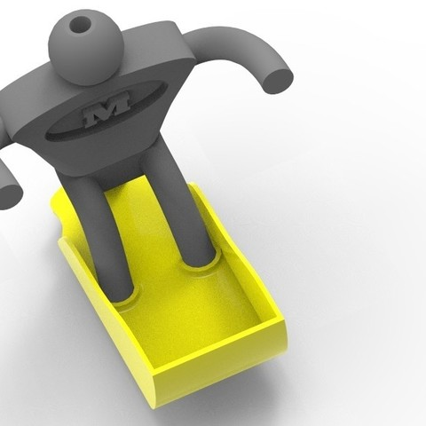 key381.15.jpg Download free STL file MultiMan | Holder | Kitchen Help • Model to 3D print, StefanP