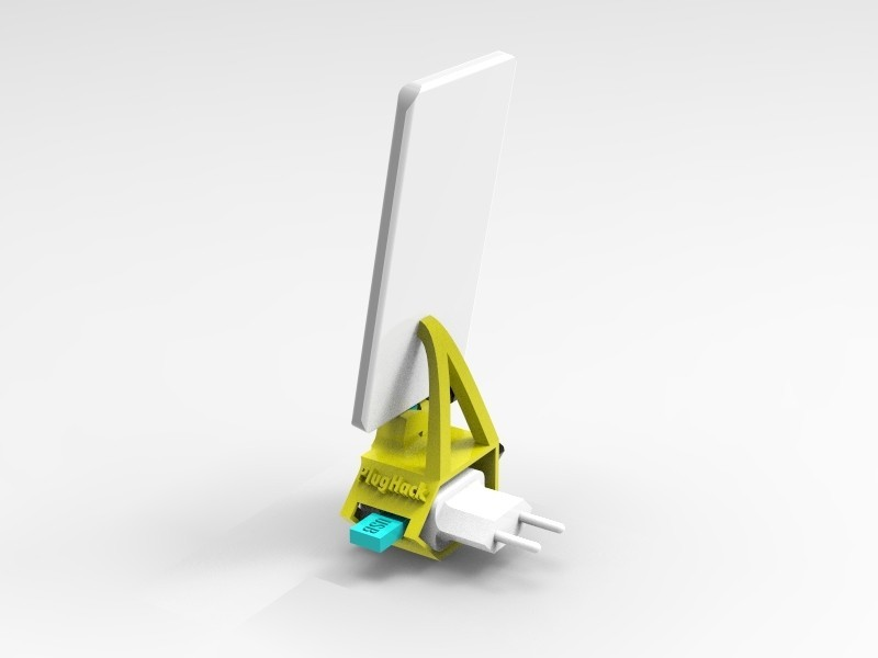 key818.4.jpg Download free STL file PlugHack | Mini DockingStation | Smartphone • 3D printer design, StefanP