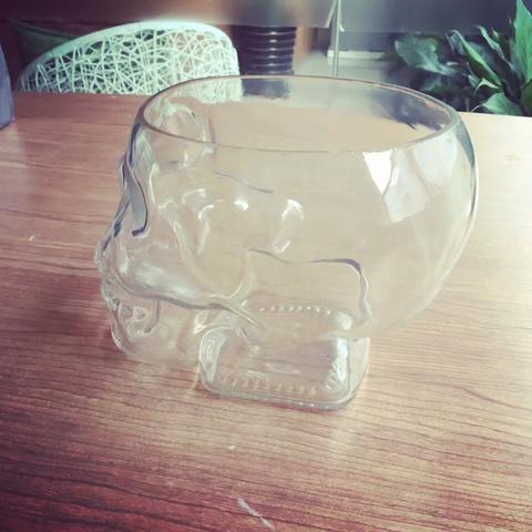 Free 3D print files Crystal Skull Head Vodka Bottle, michaeledi