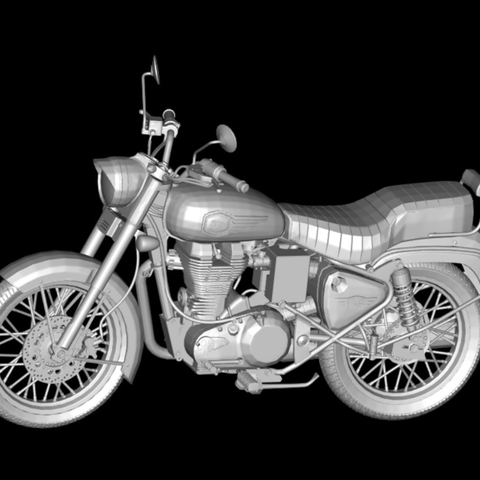 Capture d'écran 2017-11-14 à 17.03.28.png Download free STL file Motorcycle Royal Enfield Bullet 500 2016 • 3D printing object, michaeledi
