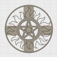 Impresiones 3D SUPERNATURAL COOKIE CUTTER, FewDey