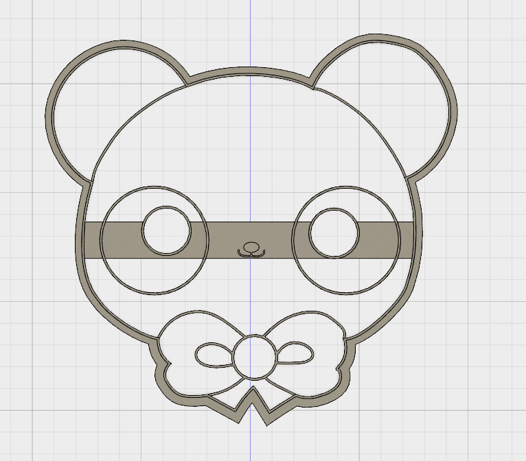 osito 2.png Download STL file Cute Bear COOKIE CUTTER • 3D printable design, FewDey