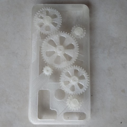 Free 3D printer designs cover gears for xiaomi mi A1, Delli98
